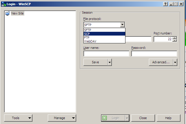 How to copy files using WinSCP – computersecuritylabs com